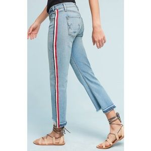 McGuire Ibiza Mid-Rise Skinny Cropped Jeans